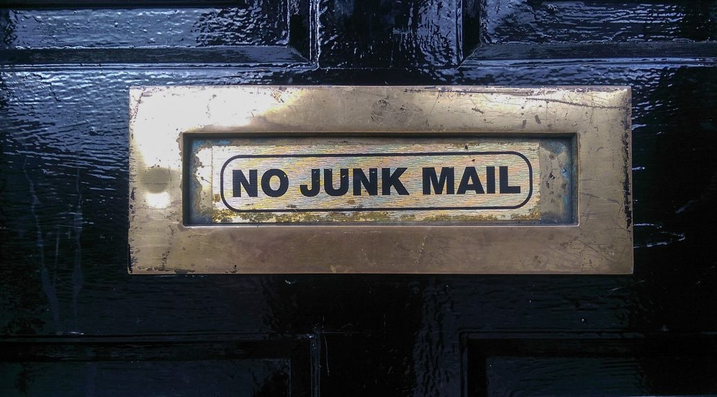 No Junk Mail Image